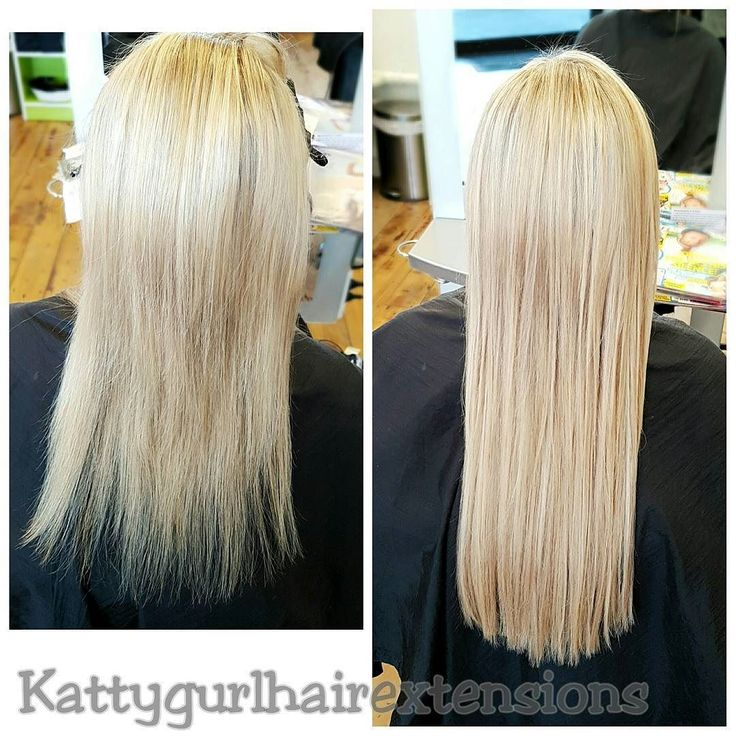 "Another beautiful install from this afternoon. First a half head of foils with Olaplex & toner. Blondes always have more fun!! Full install 20"" Extensions for Nikki   #affinageaustralia #olaplex #olaplexnz #ultrapremium #tapein #hairextensions #Kattygurlhairextensions"