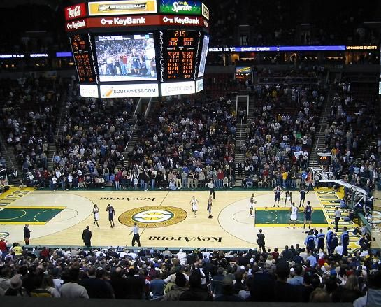 Key Arena - Seattle Supersonics | NBA Arena's I've Been To | Pinterest | Back to, Home and I want