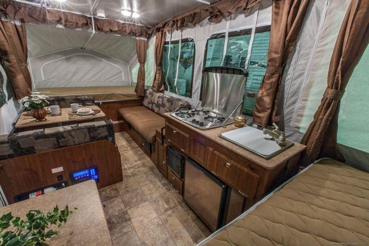 Pop Up Camper Interior | Tent Trailer Interior - Best | Pop Up Camper Remodel | Pinterest ...