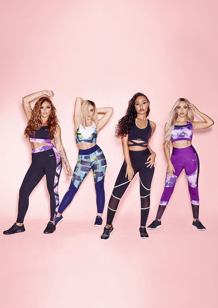 BRAND NEW // Check out Jesy, Perrie, Leigh Anne & Jade in the latest Little Mix Collection from USA Pro... Available at USC!