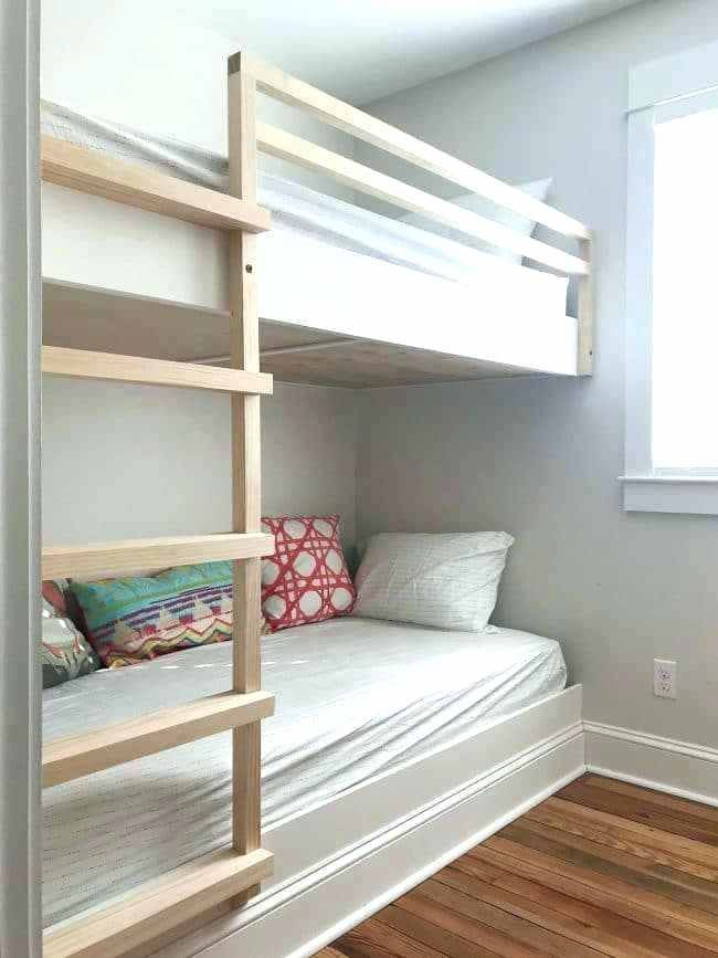 Built In Bunk Beds Ideas Built In Bunk Beds Built In Wall To Wall