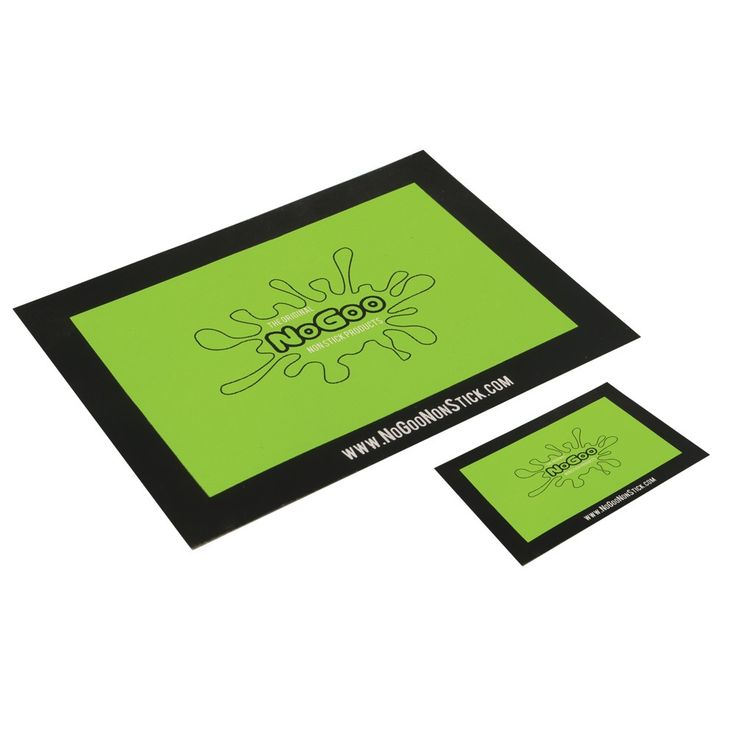 NoGoo Platinum Cured Silicone Mat – Small