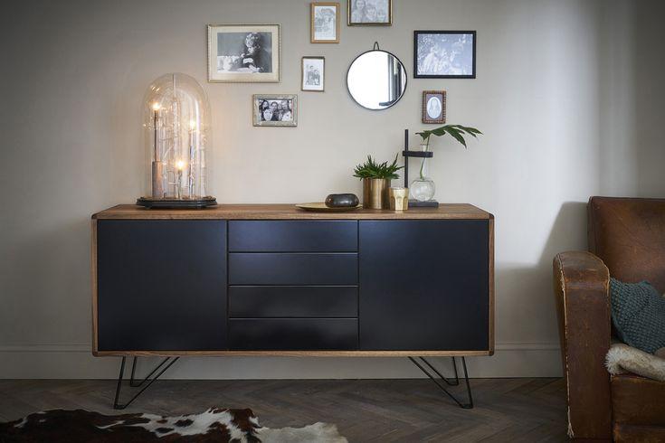 Best meubles design bois et noir retro scandinave made in