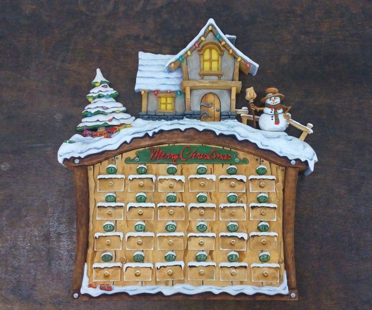 Wood Carving - Adventní kalendář ... Řezbářství Hejkalíci - Tomáš Hejhal