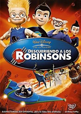 Descubriendo a los Robinsons - Disney.El viaje de Lewis al futuro para encontrar a la familia que nunca conoció.