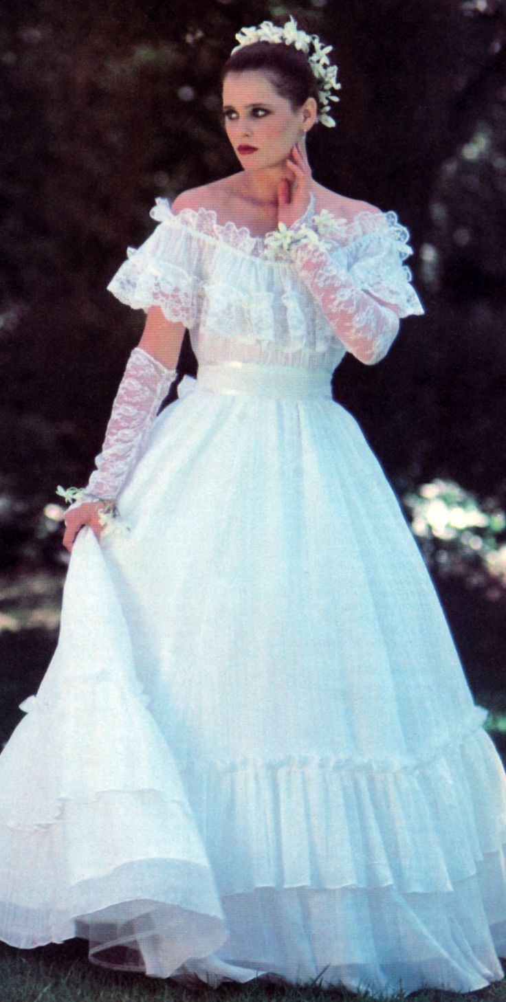 288 best Wedding Dresses from the 80s images on Pinterest ...