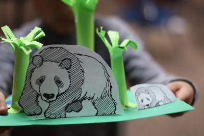 Make a Panda Bear Habitat - Fairy Dust Teaching