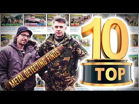 TOP 10 BEST METAL DETECTOR FINDS - YouTube