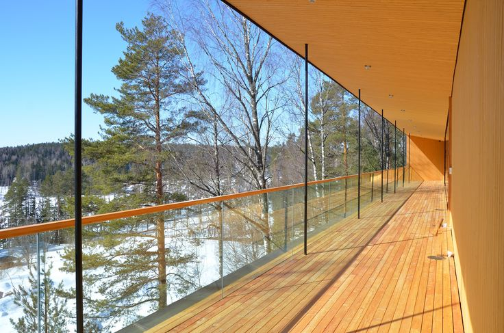 Haltia's terrace April 2013. Photo: Tuomas Uola