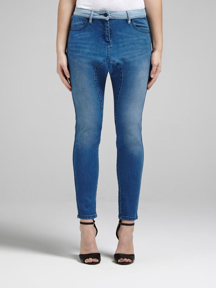 Camilla And Marc - Vision Drop Crotch Denim Jean