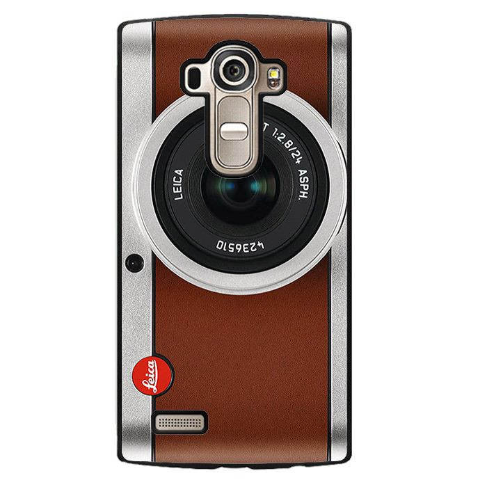 Tanned Leather Leica Camera Phonecase Cover Case For LG G3 LG G4