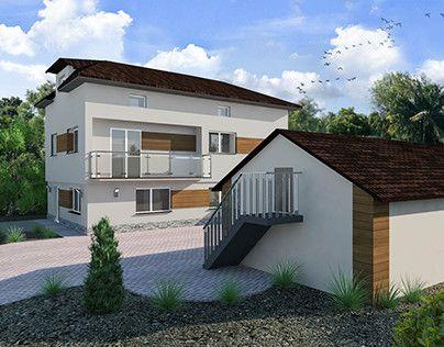"Check out new work on my @Behance portfolio: ""New elevation of old house/ Nowa fasada budynku"" http://be.net/gallery/51448303/New-elevation-of-old-house-Nowa-fasada-budynku"