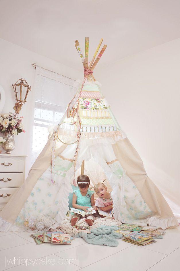 GIRLY TEE PEE - mommo design
