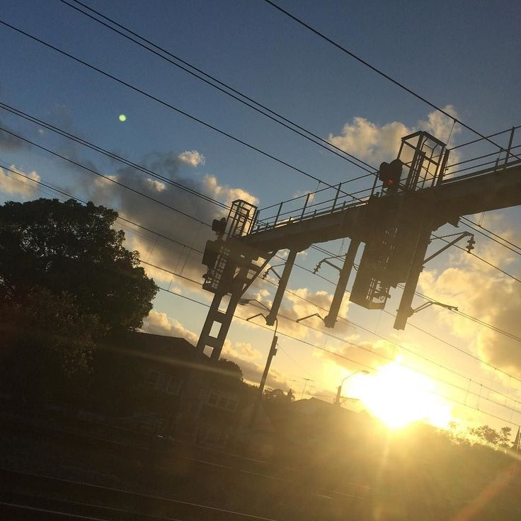 A journey of clouds Photos of clouds taken as I travel places in the train - #ajourneyofclouds #journey #train #clouds #sydney #journeyofclouds #railway #shootyourcommute #sunset