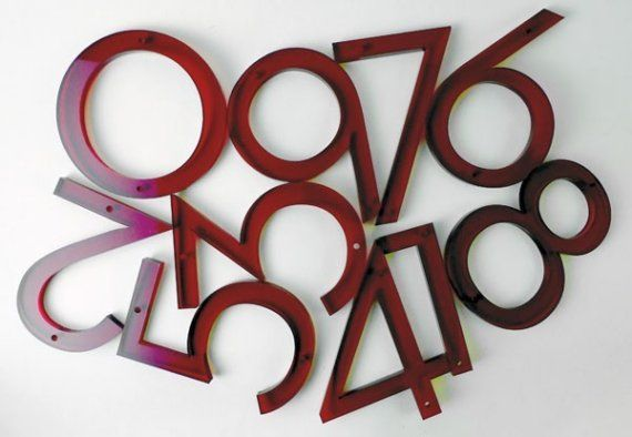 Neutra house numbers by madeabq on etsy i have them on my house