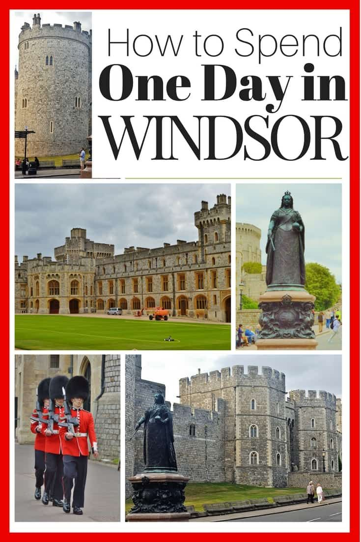 How to Spend One Day in Windsor. It's a great day trip from London.
