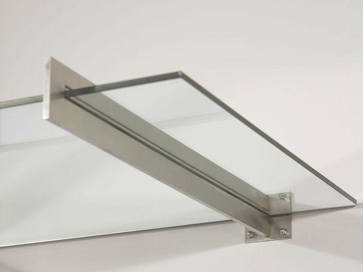 Outdoor railing / metal / glass panel / for balconies - PAULI FRANCE