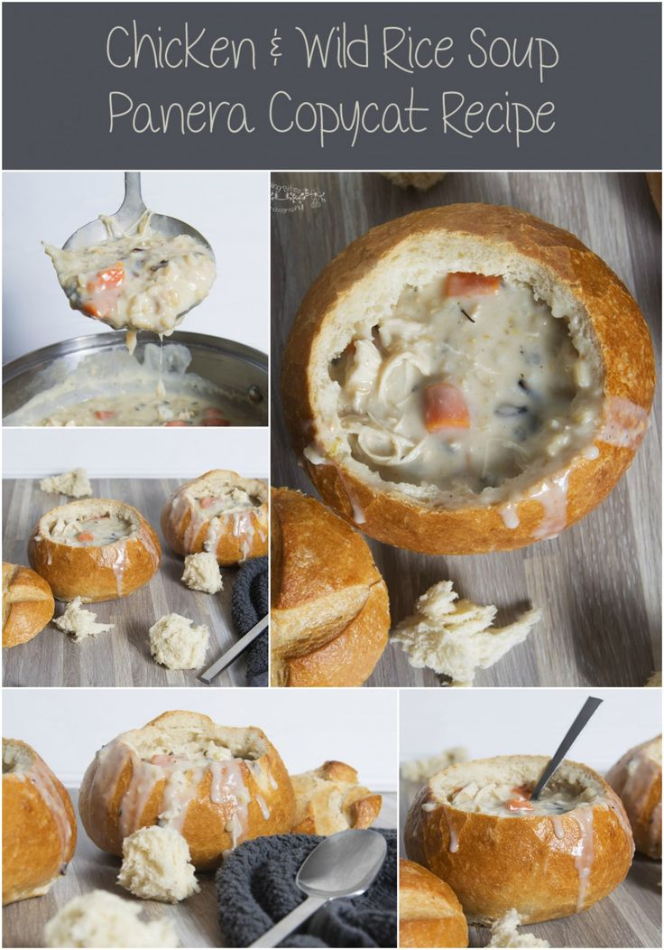 Creamy Chicken and Wild Rice Soup Panera Copycat Recipe – Blooming Bites Photography