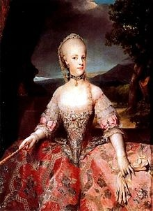 Maria Carolina of Austria (1752 - 1814). Daughter of Maria Theresa and Francis I . She married Ferdinand I of Naples and had eighteen children.