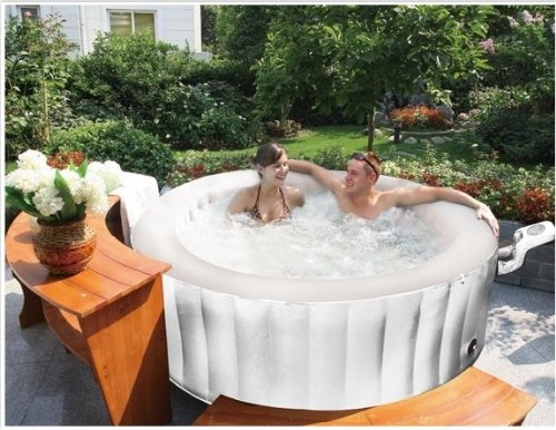 Mspa Portable Silver Cloud Spa Hot Tub Jacuzzi M Spa I