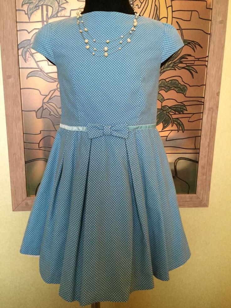 Купить Милое платьице - платье, платье для девочки, Платье нарядное, хлопок, хлопок 100%, микровельвет