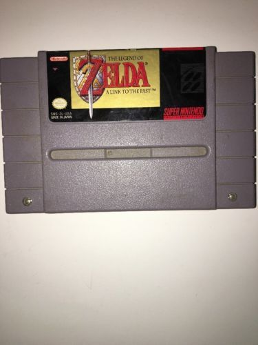 The Legend of Zelda: A Link to the Past (Super Nintendo Entertainment Sys TESTED