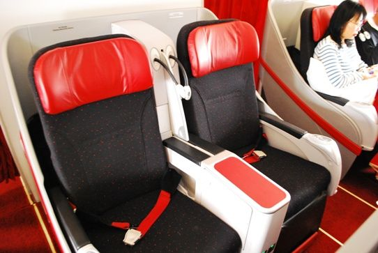 Flat Bed Seats on Air Asia Airlines - Try an Upgrade From Cattle Class