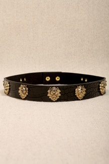 Lion Head Waist Belt