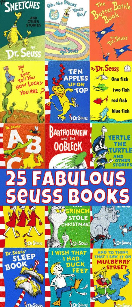 A fabulous list of the best of the best Dr Seuss titles as voted by friends of Childhood 101.