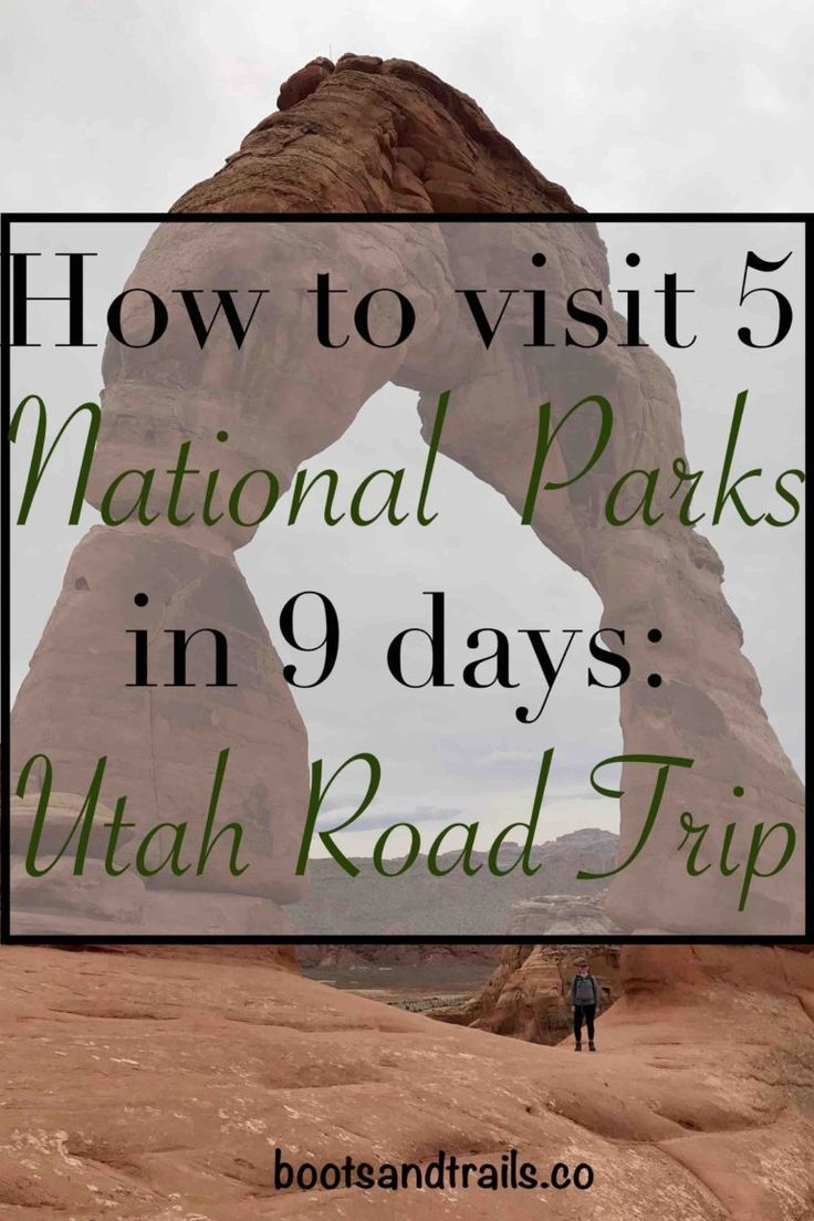 How to visit national parks in days ultimate utah road trip
