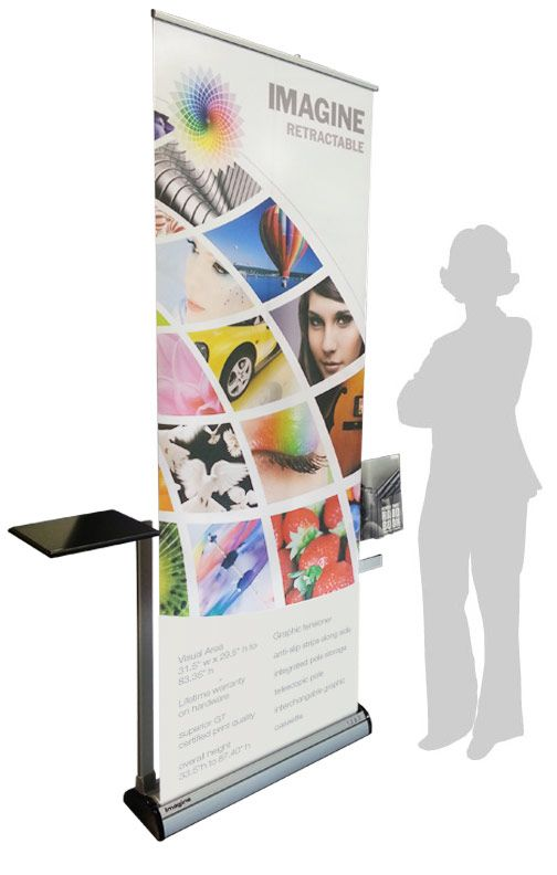 Imagine Retractable Banner Stand | CamelBack Displays, Inc. ™