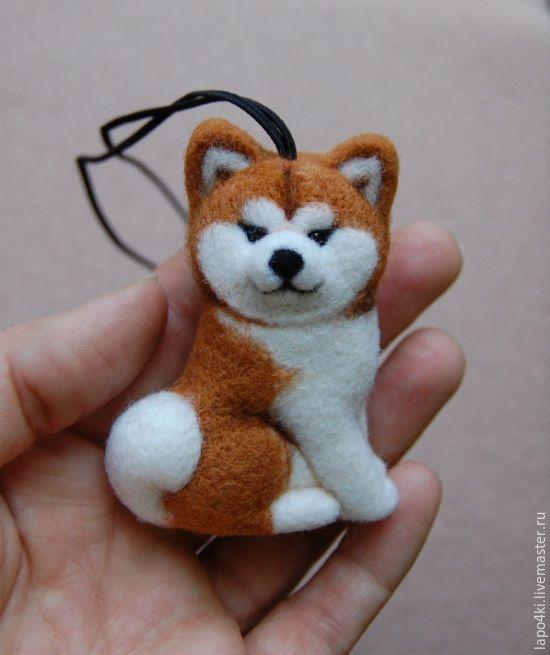 Купить подвеска в авто Акита - рыжий, акита, сиба, собака, собачка, собаки, щенок