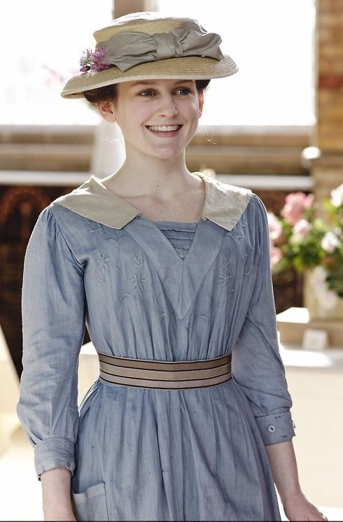 ...when you're missing Downton Abbey...Daisy!