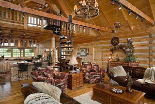 Gerendaház - nappalik ~ Szép házak, szép otthonok