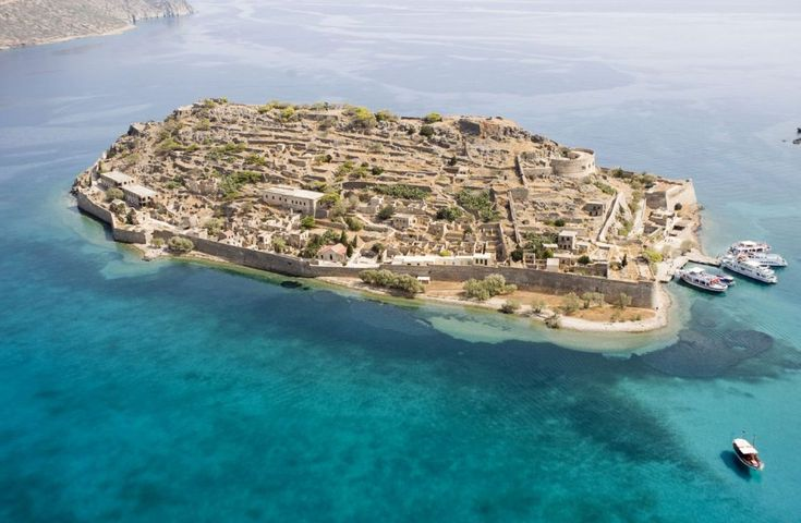 Spinalong island...amazing beauty just across Elounda