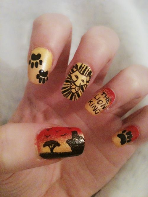lion king nails