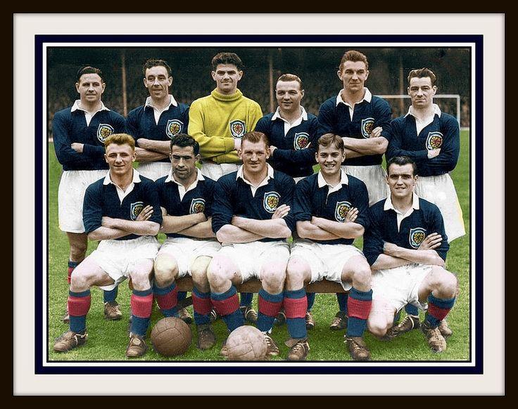 Scotland Team vs Wales - (1954)