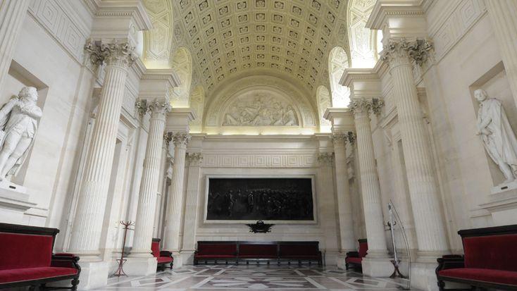 Salon Casimir Perier, Palais Bourbon, French National Assembly, Paris 7e