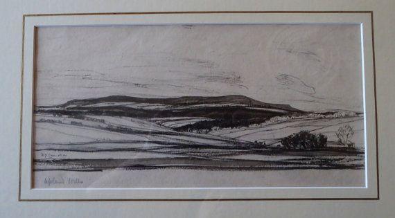 ORIGINAL Watercolour Sir David Young Cameron by IconicEdinburgh
