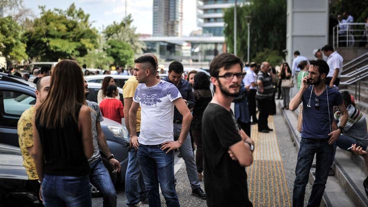 Schweres Erdbeben in der Agäis - Türkei und Griechenland betroffen - News Ausland - Bild.de