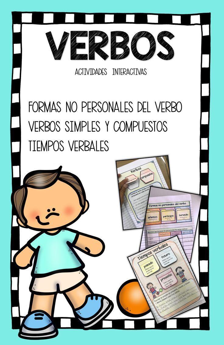 Spanish Verbs Verbos De Accion Copulativos Simples Y