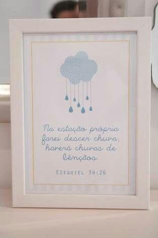 Porta retrato - Chuva de bênçãos