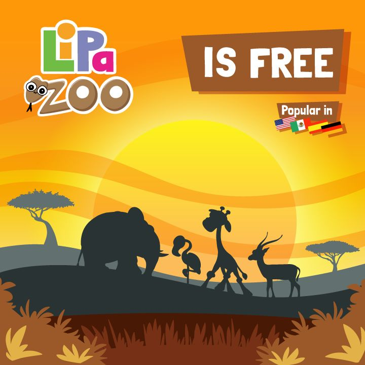 Thank you for making Lipa Zoo so popular! We couldn't have done it without you, and truly appreciate your support.  Share with your friends and meet our adorable animals by downloading it for FREE on the App Store now:  https://itunes.apple.com/app/lipa-zoo/id706099116?ls=1&mt=8  #freeapp #animals #kids #education