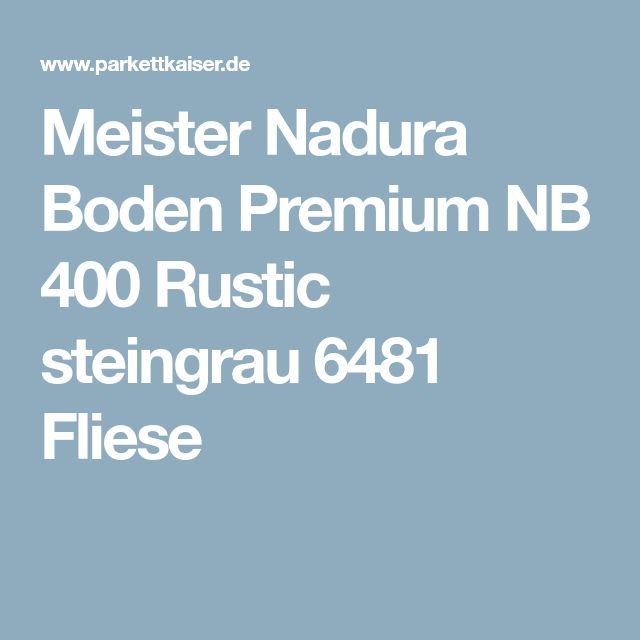 Meister Nadura Boden Premium NB 400 Rustic steingrau 6481 Fliese