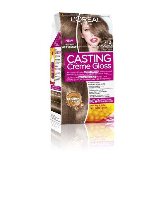 L'Oréal Paris Casting Crème Gloss 713 - As goud middenblond - Haarverf