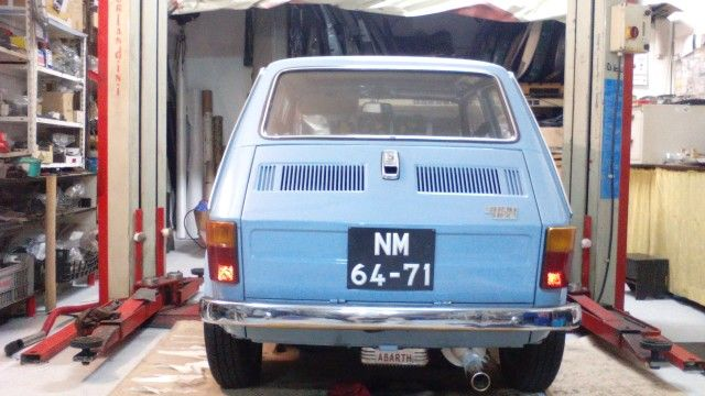 MY FIAT 126 @ GARAGE 4 NEW CARTER INTER COOLER AIR OIL BY ABART