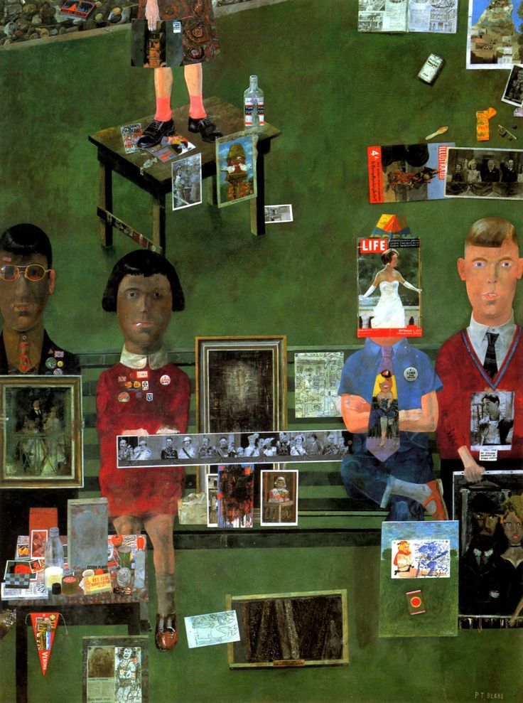 peter blake on the balcony - Google Search
