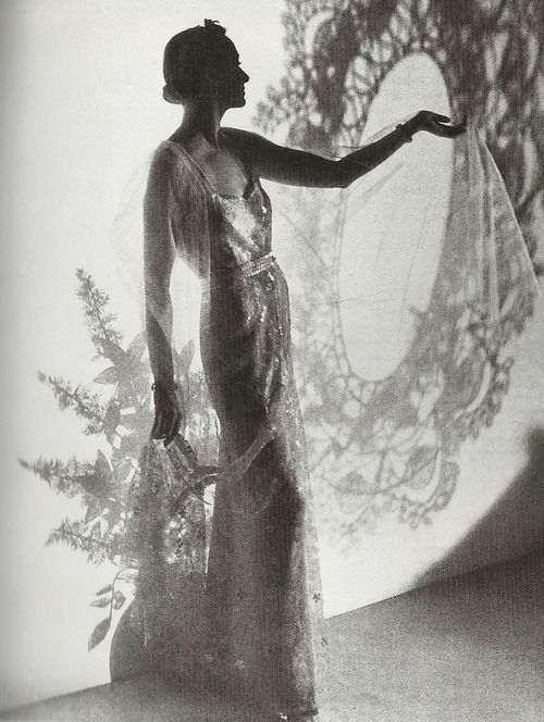 Chanel - Vogue, 1935. Photo by Cecil Beaton.