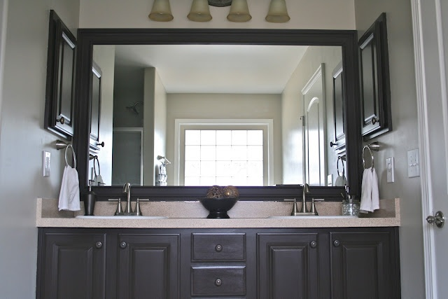 Diy Bathroom Project Using Rustoleum Countertops And