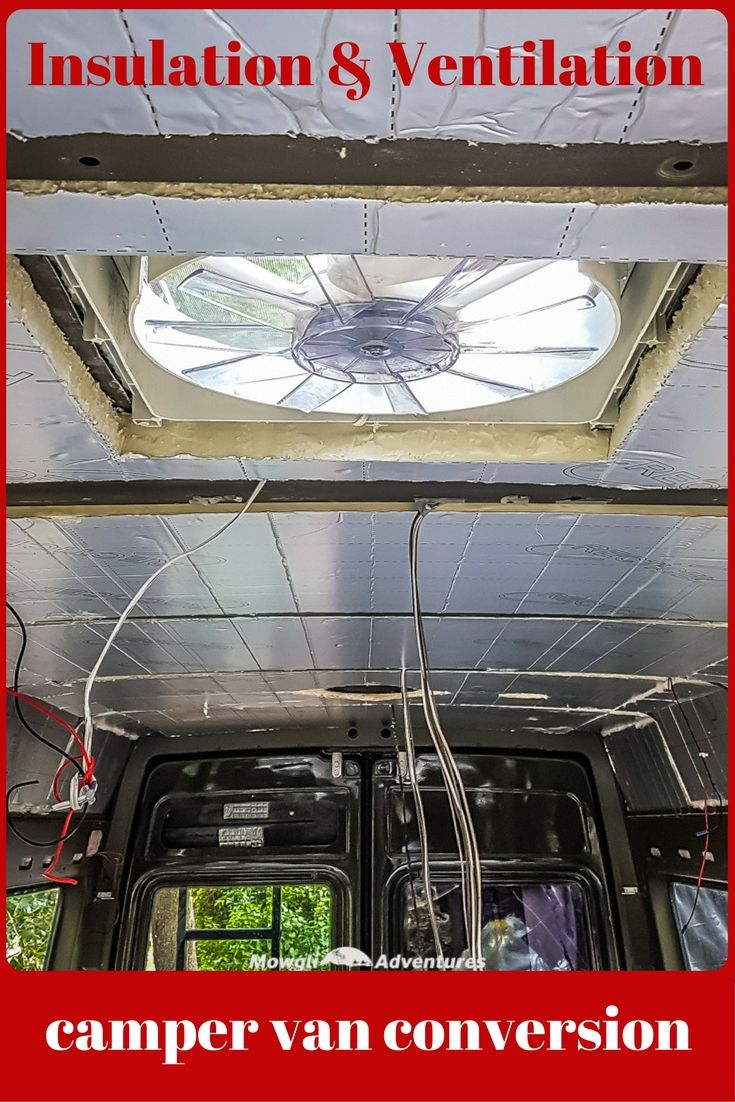 Campervan Insulation And Ventilation A Complete Guide Van Insulation Van Life Diy Build A Camper